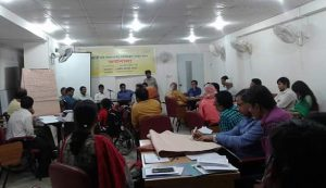 workshop on national strategy for rights and protection act of Person with Disability